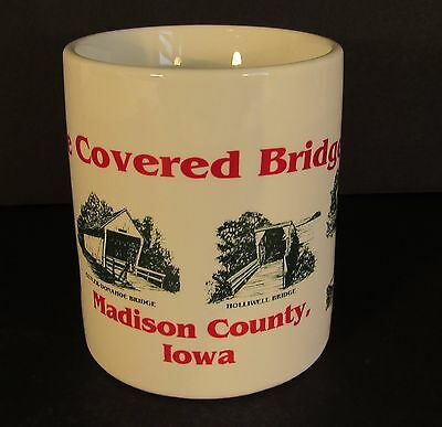 The Covered Bridges of Madison County, Iowa Souvenir Coffee Cup