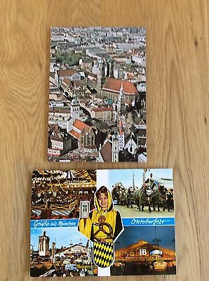 Vintage Postcards - Various From Munich Germany