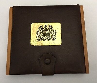 Canada 1980 Official Coin Set In Wooden Box
