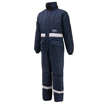 Heavy Duty DUAL INSULATE Cold-store Coverall ( -25) with Red Lining (BS051)