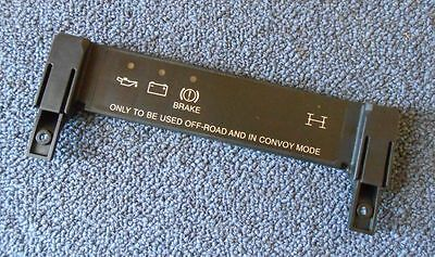 Land Rover Military Defender 90/110 Wolf Dash Light Black Out Panel