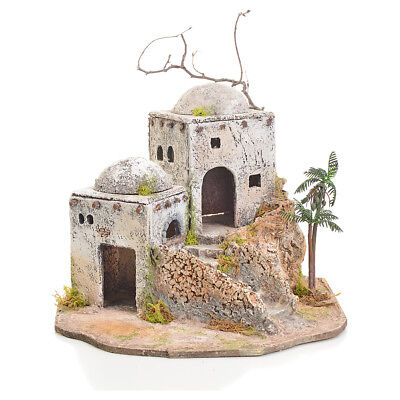 Arabian house in resin and cork