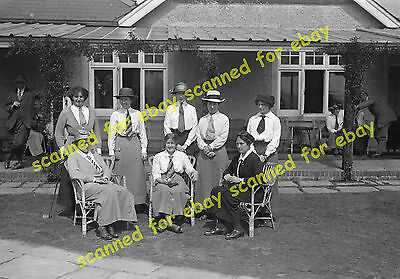 Photo - Women players at West Hill Golf Club, Woking, 1920's/30's