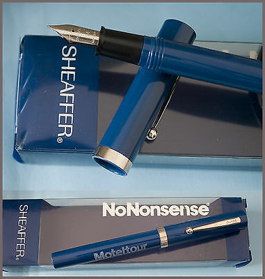 PENNA STILOGRAFICA SHEAFFER NoNONSENSE pubblicitaria made in USA