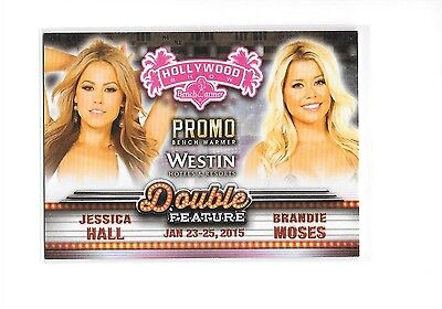 2015 Benchwarmer Hollywood Show Jessica Hall Brandie Moses Double Feature Promo