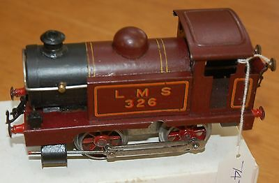 HORNBY SERIES O GAUGE No 1 TANK LOCO IN LMS RED LIVERY BOXED REFURNBISHED