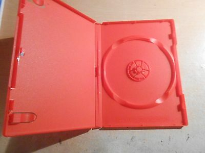 DVD / CD Replacement Case - Std 14ml Jewel Case in Red