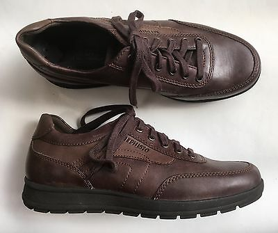 Chaussures lacées MEPHISTO marron, neuves, 39