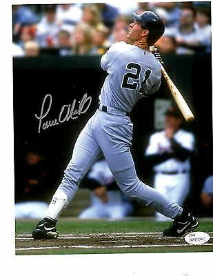 Paul Oneill Signed Autograph 8x10 W/ JSA Authentication NY Yankees
