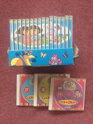 Dora the Explorer Click And Create PC Games & DVDs 1-19