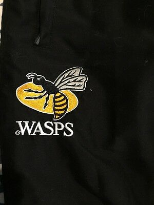 """Kukri 32"""" Wasps Rugby Tracksuit Bottoms  Training Pants Mens"""