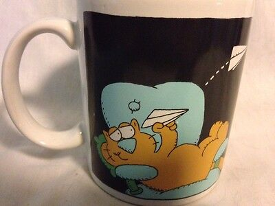 Hallmark Made In Thailand Cat In Office Coffee Cup Mug