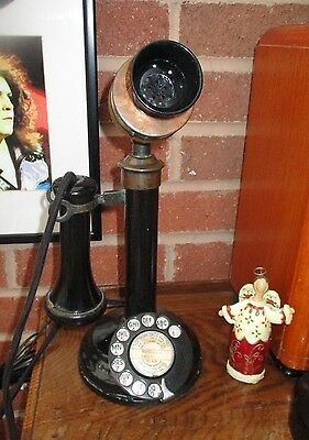Antique / Vintage  Gpo Candlestick Telephone In Working Order