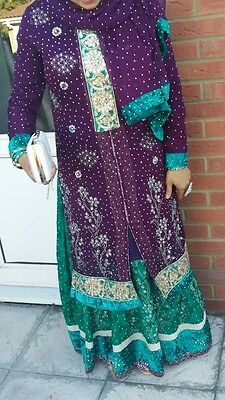 Asian Pakistani Indian Designer Wedding /Party Dress