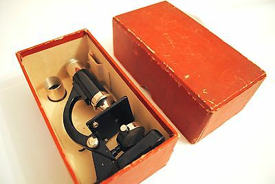Small Vintage Eclipse Students Microscope