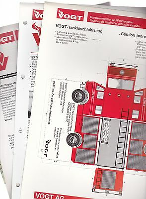 x4 - VOGT - Swiz Based Fire Service Related Publications - x4