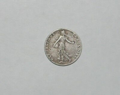 France 50 centimes 1916 silver