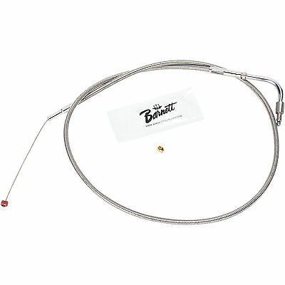 """Barnett Idle Cable Performance for Harley-Davidson 0651-0521 Natural 34"""""""