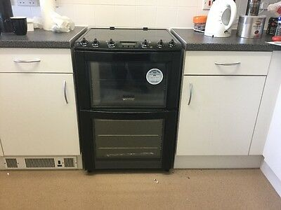 Electrolux EKC603600 Freestanding 60cm Ceramic Brown Double Oven Electric Cooker