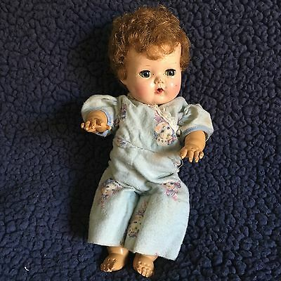 """Vintage 12"""" American Character Tiny Tears Doll Rubber Body"""