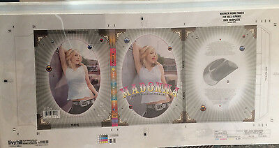 MADONNA SUPER RARE Proof for WHAT IT FEEL LIKE FOR A GIRL