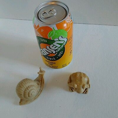 Hand Carved Snail - Soapstone?