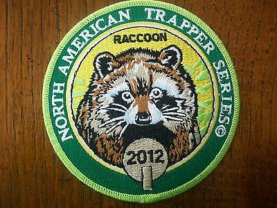 Pa Game Commisssion Trapping Patch 2012 Raccoo  North American Trapper Series