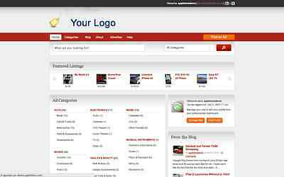 Professional Classifieds Directory Website + 1 year free hosting