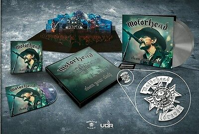 Motörhead|Lemmy|Clean your clock|LIMITED box set|SPECIAL BOMBER COVER|SEALED