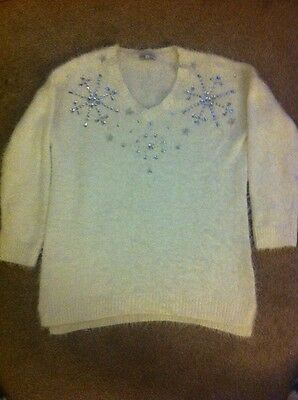 maternity christmas/winter jumper