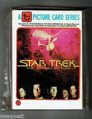 Star Trek The Motion Picture Complete 33 Card Rainbo Set 1979 NM/M