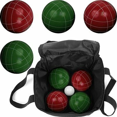 Bocce 8 Ball Set with Carrying Case new free shipping