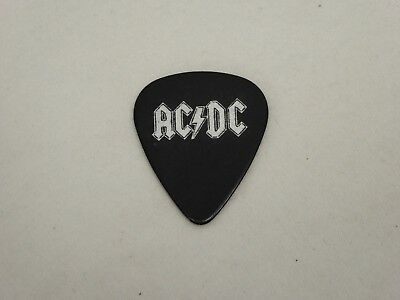 AC/DC Black Guitar Pick ESP - Angus Young ?  Malcolm Young ?