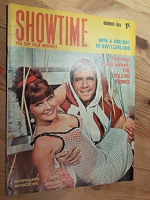 Showtime Monthly December 1965 Norman Wisdom Cover