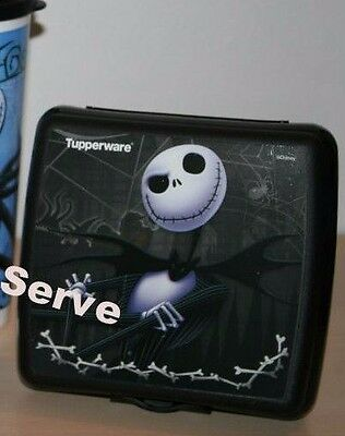 Tupperware Jack Nightmare Before Christmas Sandwich Keeper  New