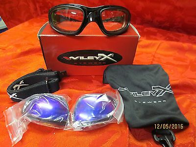 Wiley X SG-1tactical/motorcycle sun glasses