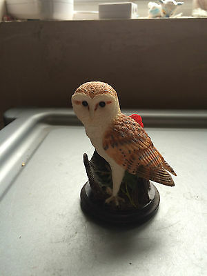 The Country Bird Collection - The Barn Owl Figurine  by Andy Pearce