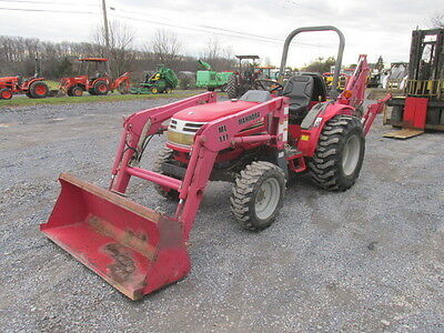 2007 Mahindra 2816 4x4 Compact Tractor w/Loader & Backhoe!