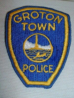 Groton Town Connecticut Police Department Embroidered Patch - New & Unused