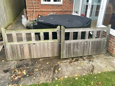 Pair Of 5' Wooden Gates