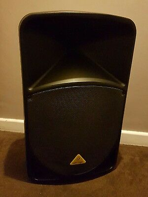 """2 Behringer Eurolive B115D 2 Way 15"""" Active Speakers With Wireless Option + Inte"""