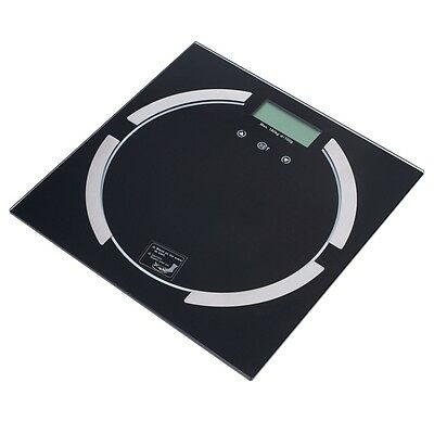 180Kg Digital Electronic Glass Lcd Bmi Calorie Body Weighing Scale Measuring