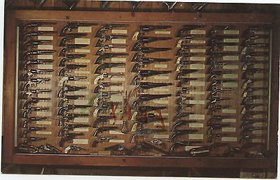 Gun Collection Post Card Powder And Ball Revolvers Shakopee Minnesota  Stagecoac