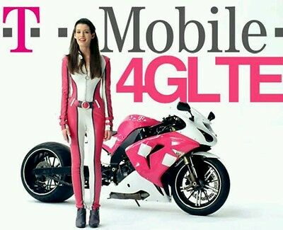 Preloaded T-mobile  $95 Unlimited 4G LTE plan with sim card
