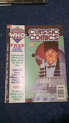 doctor who classic comics - ISSUE 11 (with free poster)