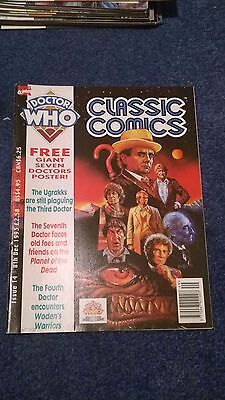 doctor who classic comics - ISSUE 14 (with free poster)