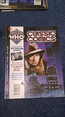 doctor who classic comics - ISSUE 17 (with telesnaps)