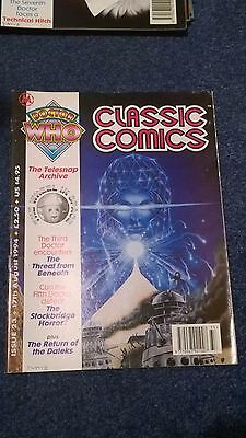 doctor who classic comics - ISSUE 23 (with telesnaps)