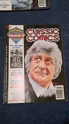 doctor who classic comics - ISSUE 24 (with telesnaps)