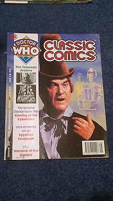 doctor who classic comics - ISSUE 26 (with telesnaps)